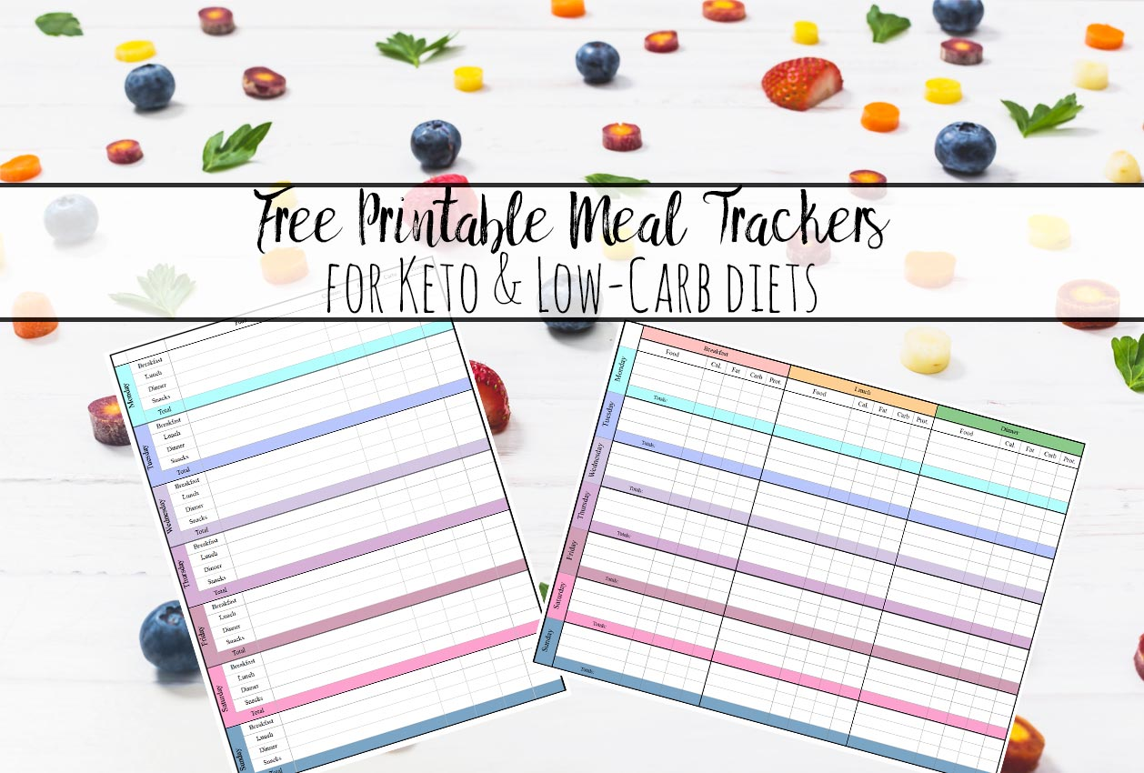 food tracker for low carb diet