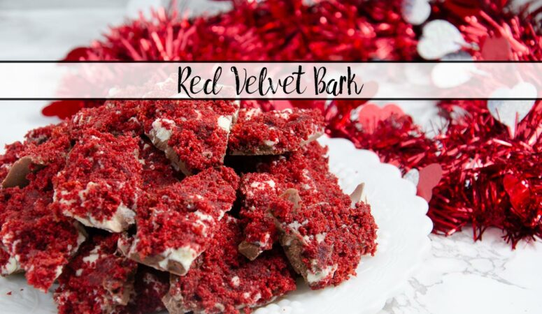 Red Velvet Bark: Easy & Delicious