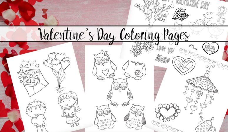 Have Fun With Free Printable Valentine's Day Coloring Pages
