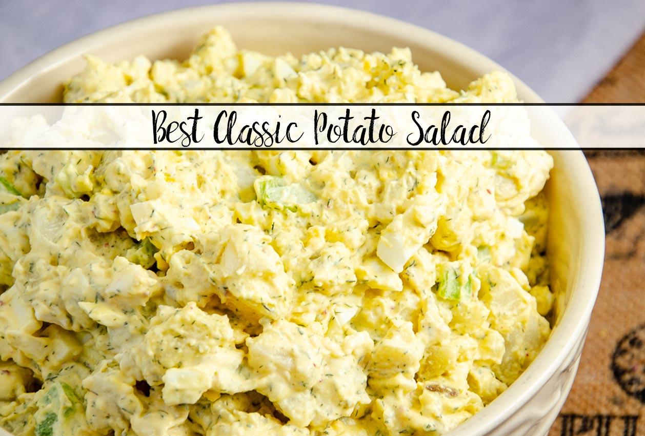 Best Classic Potato Salad Recipe Ever