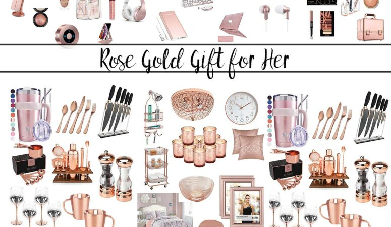 Rose Gold Gifts For Her: 125+ Items You Have to Check Out