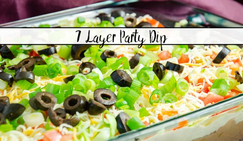 Easy 7 Layer Dip: Great Appetizer