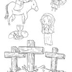 Free printable Easter Coloring Page: Design 4 of 6