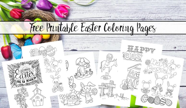 Free Printable Easter Coloring Pages: Free Fun for Kids!