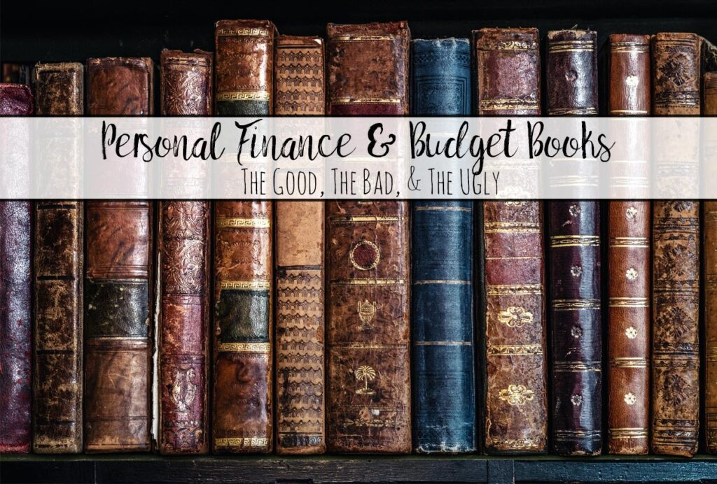 Reviews of All the Recommended Personal Finance and Budgeting Books