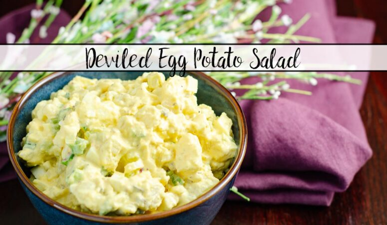 Easy Deviled Egg Potato Salad