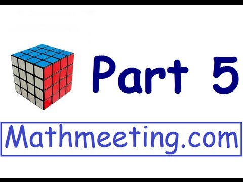 How to solve the 4×4 Rubik's cube – Part 5 – Corner Parity – The How To