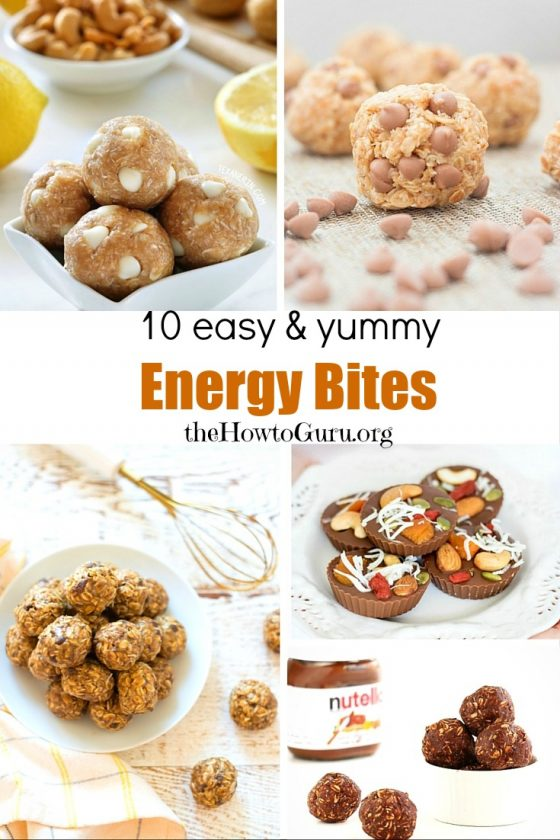 31 DAYS OF DELICIOUS EASY RECIPES FOR BUSY WIVES: ENERGY BITES (DAY 1) by The How-To Guru