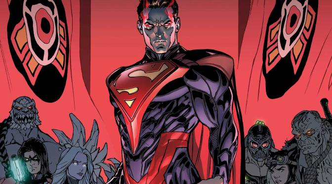 DC Comics INJUSTICE: GODS AMONG US: YEAR FIVE concludes and Writer Brian Buccellato Tips the Scales of War