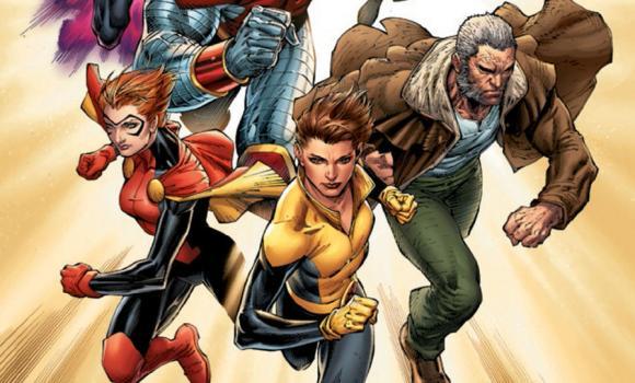A Mutant Renaissance Marvel Comics X Men Gold Blue The Hq Remixed