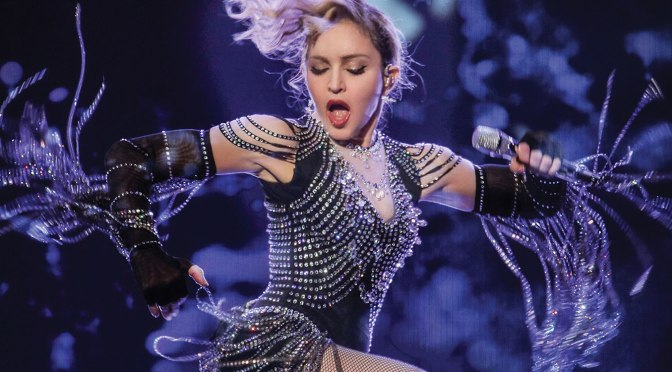 iReview :: MADONNA'S Rebel Heart Tour Live!