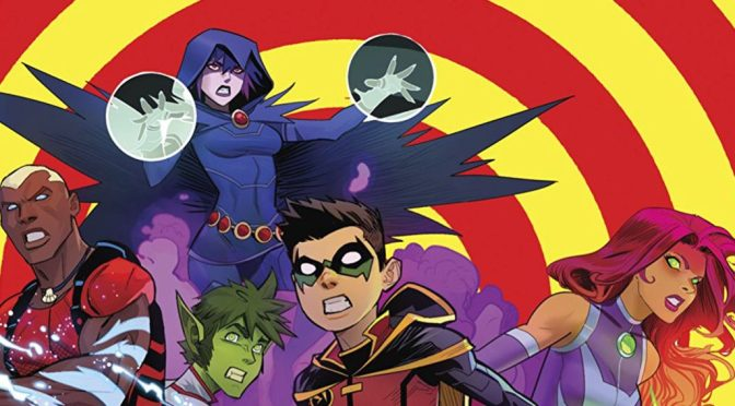 """iReview :: TEEN TITANS #13 """"The Return of Kid Flash"""" Part One"""