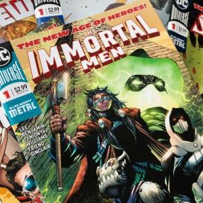 Jim Lee takes on DC Comics mythology in THE IMMORTAL MEN.