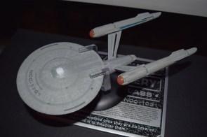 USS Enterprise surface detail.
