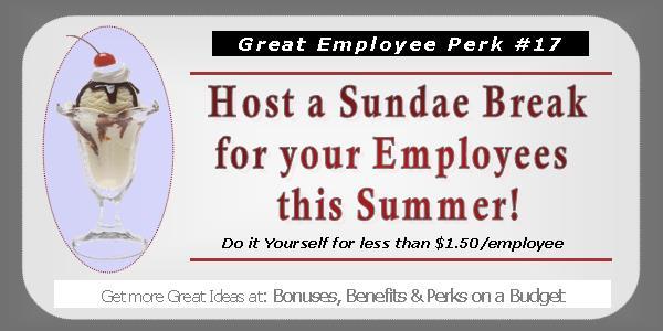 Great Employee Perks