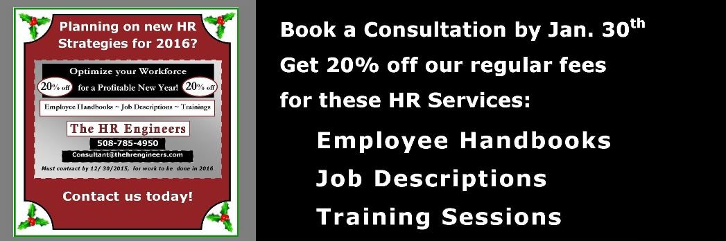 20% Off HR Select HR Services