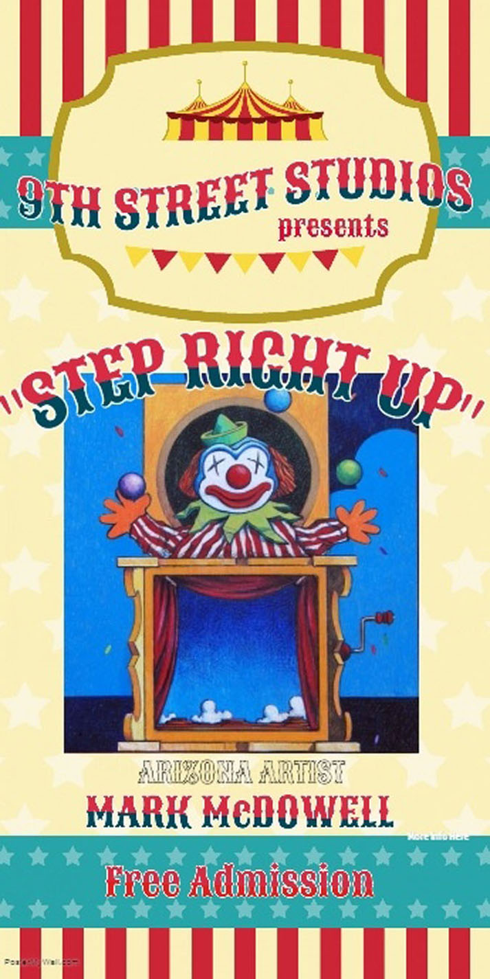 Step Right Up! - Circus Themed Event Will Spotlight Artist