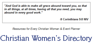 Christians Womens Directory_Ice Breakers