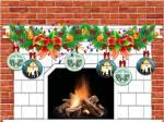 PWOC Christmas Fireplace