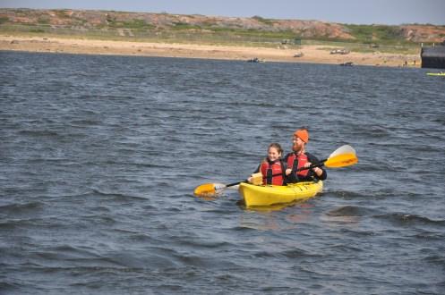 Visitors can rent a kayak.