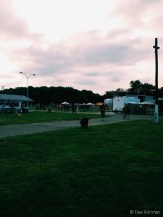 Maryland sunset while working a Pop Evil concert.