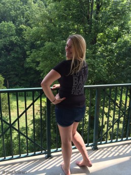 Enjoying the mountains in Gatlinburg, TN on vacation.