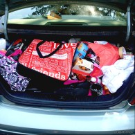I couldn't possibly have fit one more thing in my trunk when I moved.