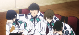 The Irregular at Magic High School Episode 5-Students reflecting on discrimination between magicians