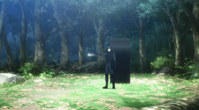 More action oriented scenes-The Irregular at Magic High School anime series