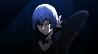 Art bearing the pain of the transfusion-Re Hamatora Episode 3