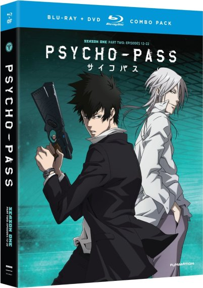 Psycho-Pass Part 2 Standard Edition-FUNimation Entertainment Anime Release