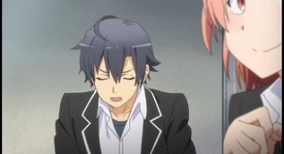 My Teen Romantic Comedy is Wrong As I Expected. 2-Clueless guys are forever clueless Part 1