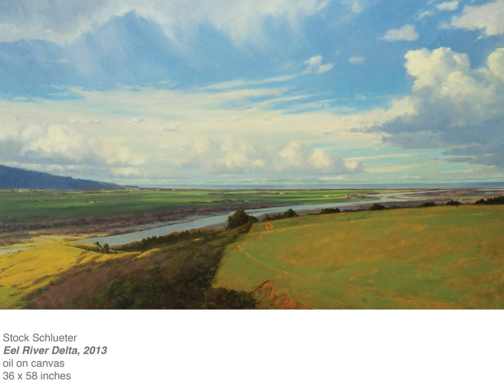 Eel River Delta 38x58 oil on canvas copy