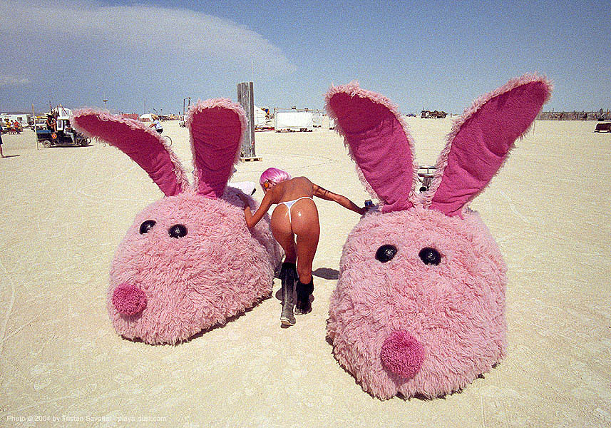 pink-bunny-slippers-burning-man