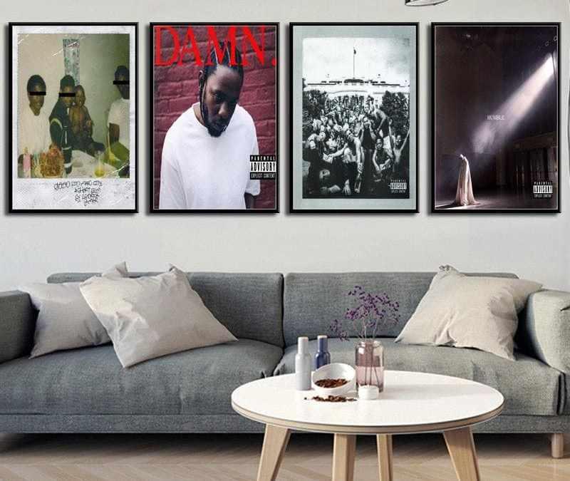 Kendrick Lamar Oil on Canvas