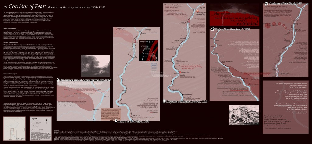 Steffany Meredyk's map of the Susquehanna River