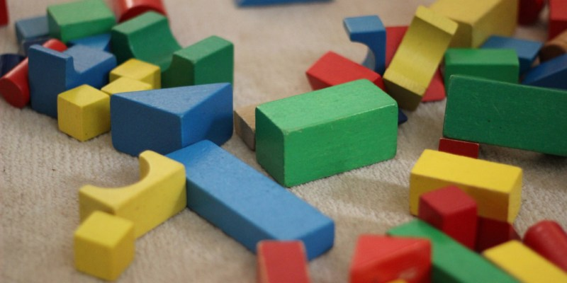 Are we just playing with blocks?