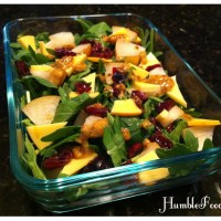 Brown Bag Tuesday: Smoky Fall Salad & Meatballs