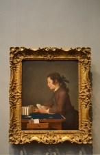 The Houses of Cards - Jean-Siméon Chardin