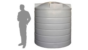 1,000 gallon water tank = 1 pound of almonds