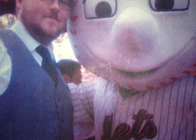 Me and Mr. Met