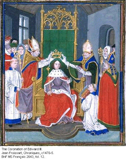 25th January 1327 – Edward III assumes crown of England