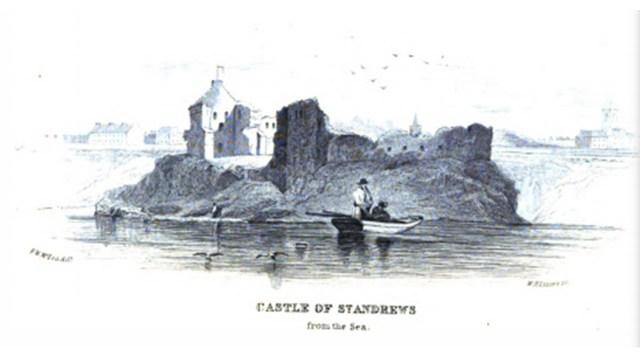Surrender of St. Andrews Castle, 28th February 1337