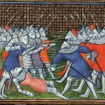 Death of Sir John Chandos at Lussac