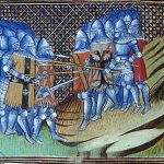 Anonymous 15th century image of the Battle of Cocherel