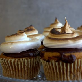 Happy 4th!  S'mores Cupcakes