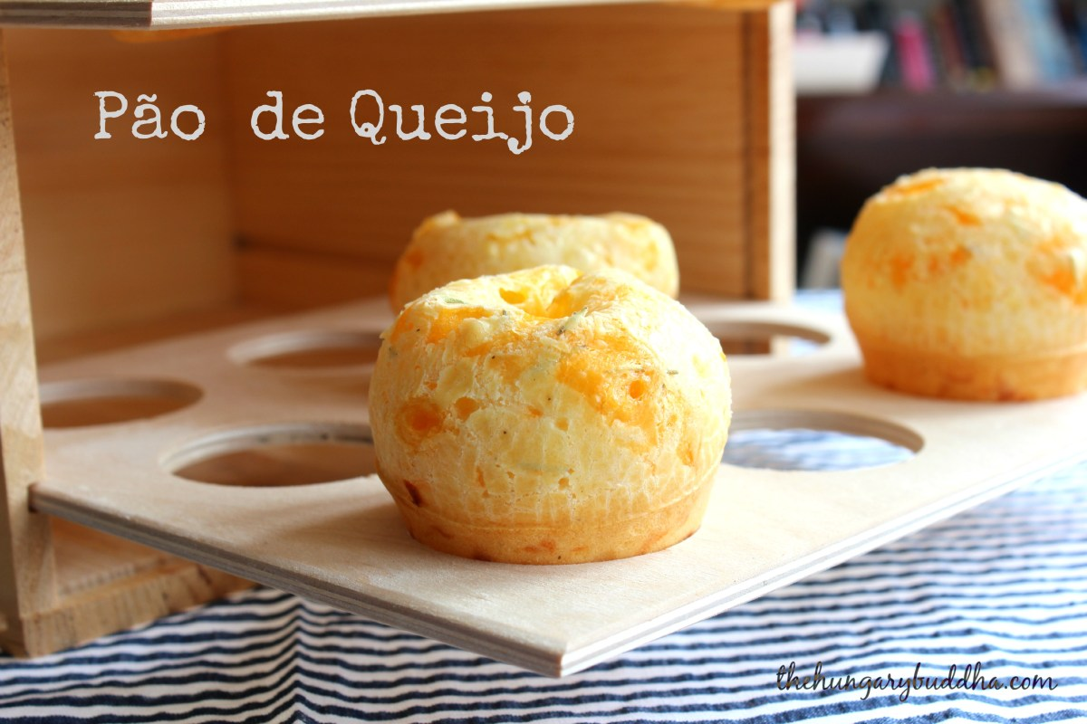 Cheesiness:  Pão de Queijo, or Brazilian Cheese Rolls