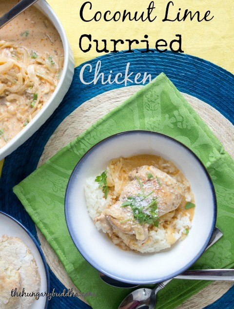 Caribbean Cruising:  Coconut Lime Curried Chicken