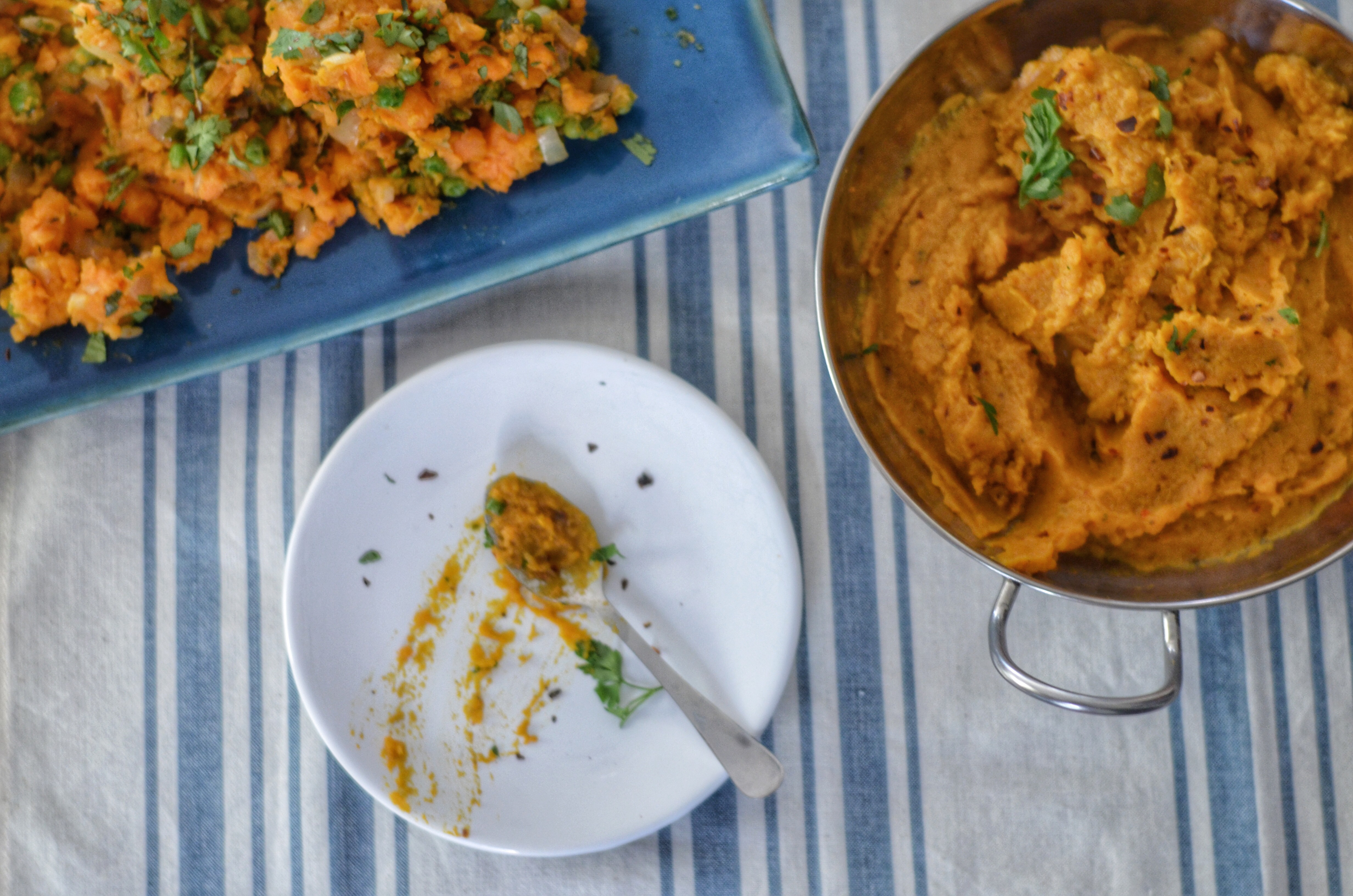 Sweet Potatoes, Three Ways