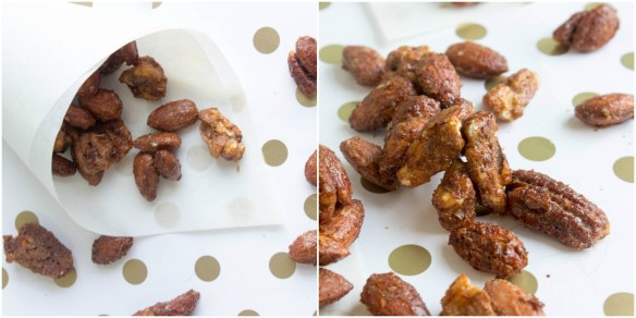 carnival style roasted spiced nuts